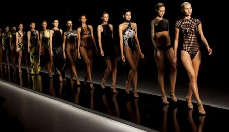 Desfile do Fashion Rio
