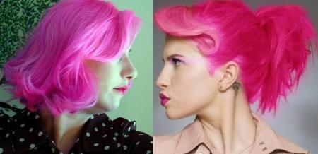 DIcas para cabelos cor de rosa
