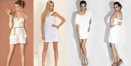 Vestidinhos brancos para o Ano Novo